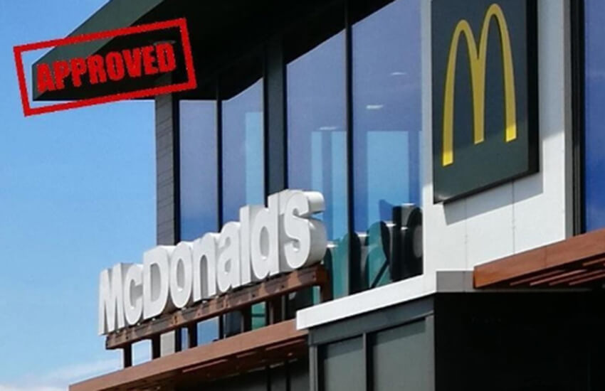 Help McDonald's gain planning permission